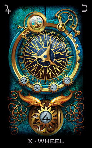 Tarot of Dreams Wheel Card