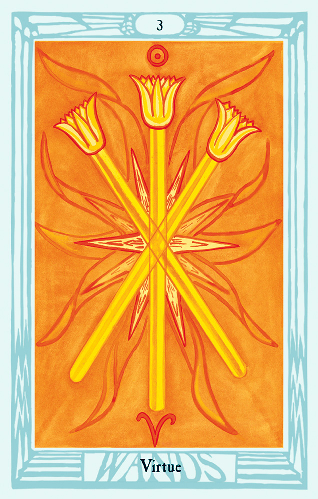 Thoth 3 of Wands