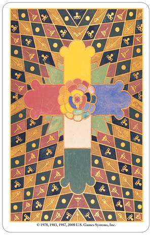 Thoth Tarot Card Backs