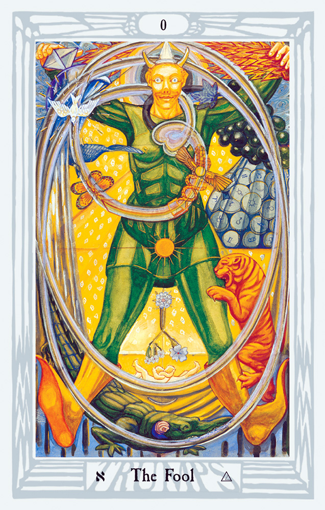 Thoth Tarot Fool