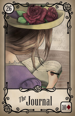Under the Roses Book Card