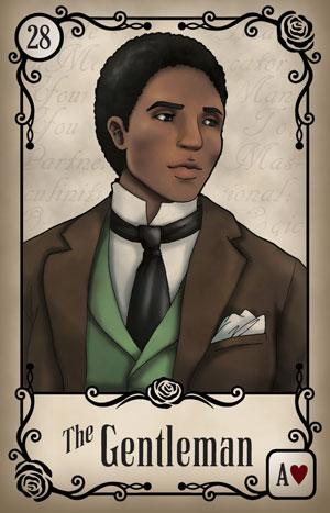 Under the Roses Gentleman Card