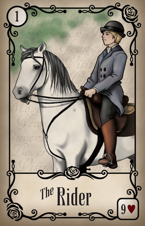 Under the Roses Rider Card