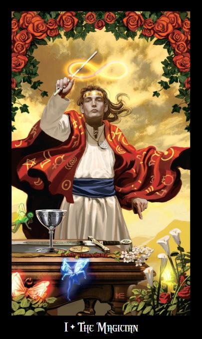 Witches Tarot Magician Card