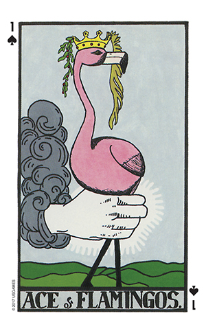 Wonderland Tarot Ace of Card