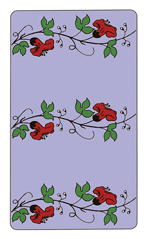 Wonderland Tarot Card Backs