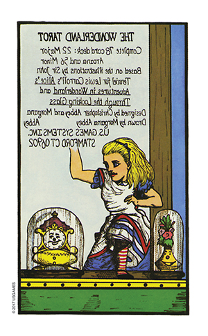 Wonderland Tarot Extra Card