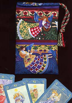 Two Angels Tarot Bag