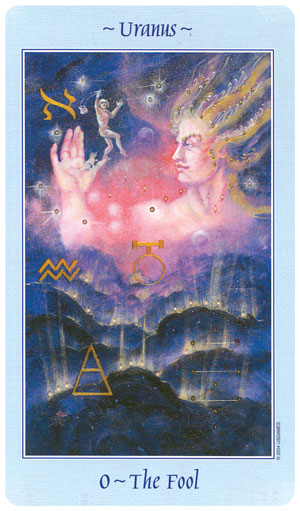Celestial Tarot Fool Card