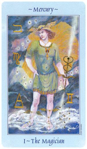 Celestial Tarot Magician Card
