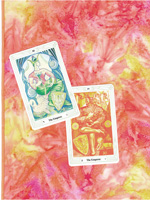 Ostara Tarot Cloth
