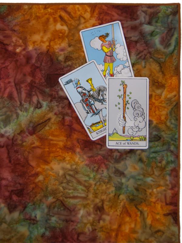 Samhain II Tarot Cloth
