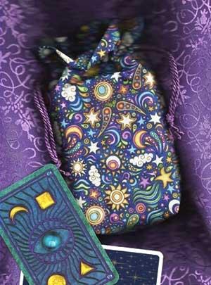 Doodle Nights Tarot Bag