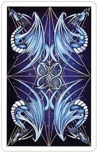 Dragon Tarot Card Backs