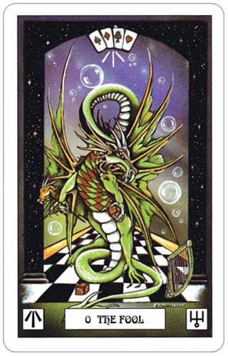 Dragon Tarot Fool