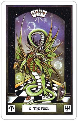 Dragon Tarot Fool
