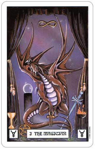 Dragon Tarot Magician