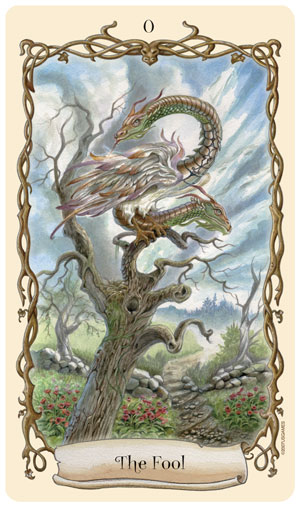 Fantastical Creatures Tarot Fool Card