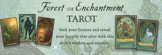 Forest of Enchantment Tarot Banner