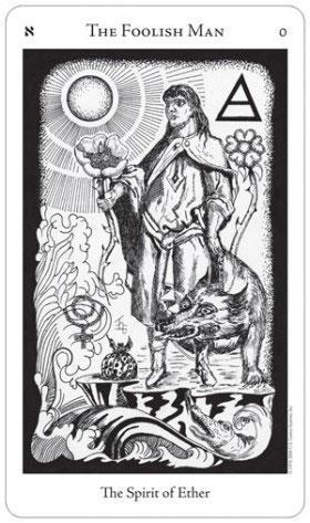 Hermetic Tarot Fool