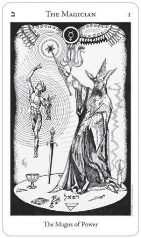 Hermetic Tarot Magician