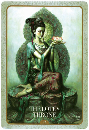 Kuan Yin Oracle The Lotus Throne