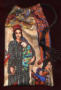 Women & Child Tarot Bag Fabric