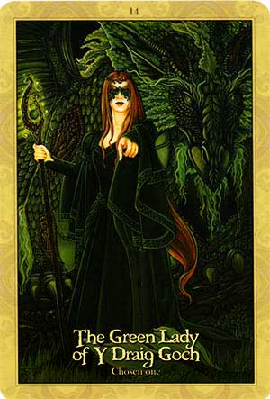 Oracle of the Dragonfae Green Lady