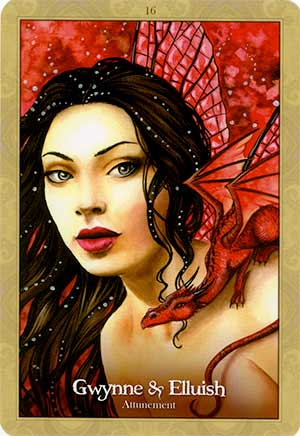 Oracle of the Dragonfae Gwynne