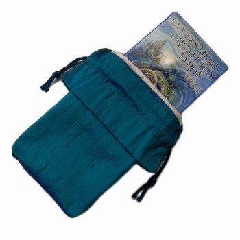 Silk Tarot Bag with Deck