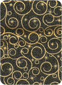 Stellar Scroll Pattern Swatch