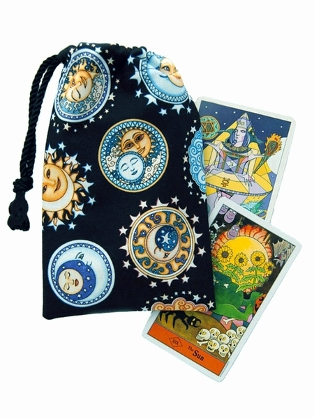 Tarot Bags Tarot Cards Cloths More: Celestial Nights Tarot Bag