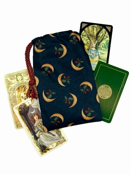 Tarot Bags Tarot Cards Cloths More: Druids Moon Tarot Bag