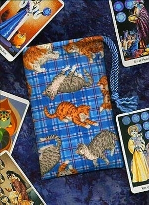 Cat Moods Regular Tarot Bag - Cat Moods Tarot Bag