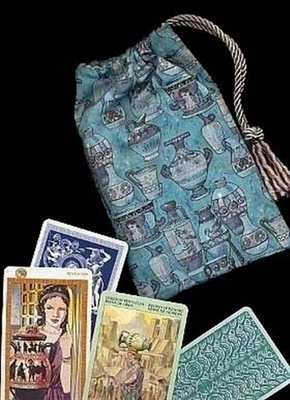 Amphora of Atlantis Regular Tarot Bag - Atlantis Amphora Tarot Bag