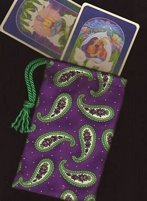 Free Spirit Regular Tarot Bag - Free Spirit Paisley Tarot Bag
