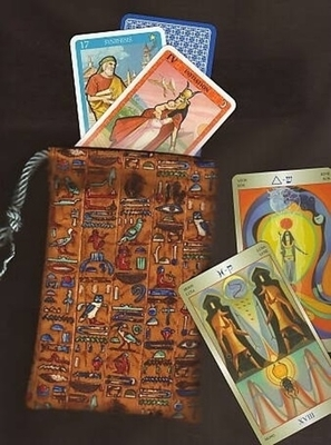 Hieroglyphs Small Tarot Bag