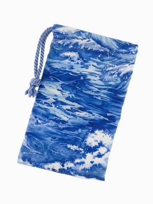 Ocean Waves Tarot Bag - Ocean Waves Tarot Bag by Tarot Totes