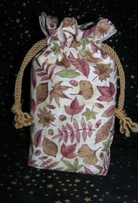 Autumn Leaves Double Draw Bag - Autumn Leaves Double Draw Bag by Tarot Totes