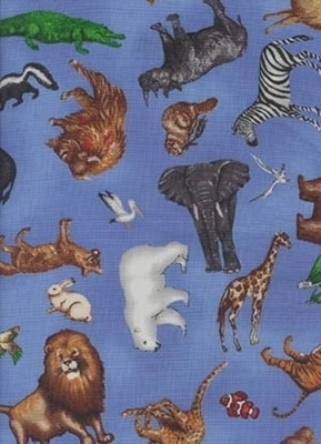 Animal Guides Cloth - Animals Guides Tarot Cloth