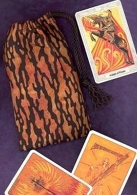 Elemental Fire Regular Tarot Bag - Elemental Fire Tarot Bag
