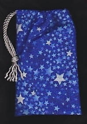 Silver Stars Regular Tarot Bag