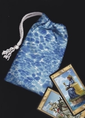 Elemental Water Regular Tarot Bag - Elemental Water Tarot Bag