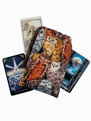 Athenas Owls Tarot Bag - Tarot Bag Owls of Athena