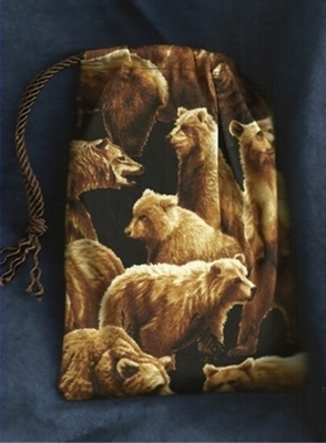 Bear Mountain Wide Tarot Bag