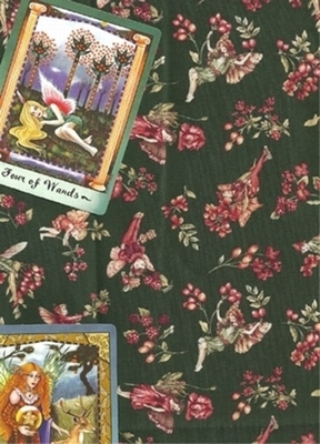 Flower Fairies Cloth - Flower Fairies Tarot Cloth
