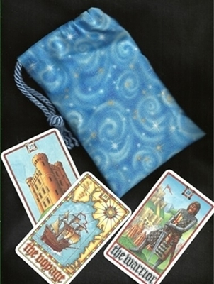 White Magick Small Tarot Bag