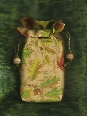 Into the Woods Double Draw Bag - Into the Woods Tarot Bag