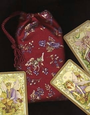 Flower Fairies Claret Tarot Bag - Flower Fairies Claret Tarot Bag