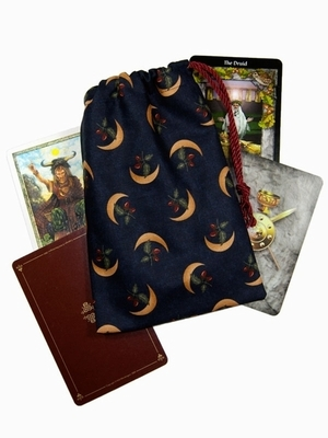 Druids Moon Wide Bag - Druids Moon Wide Tarot Bag
